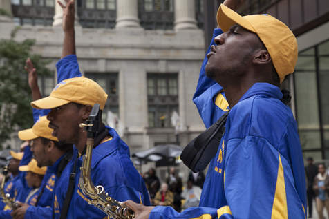 Chicago Football Classic bands march to a different beat