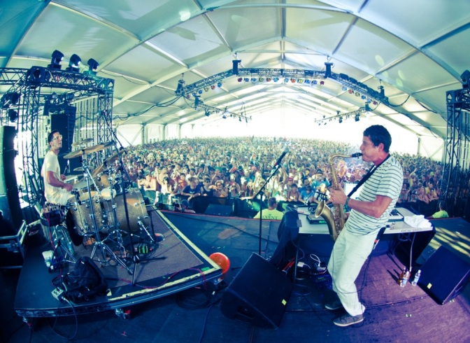 Mad Decent Block Party: Interview with Big Gigantic