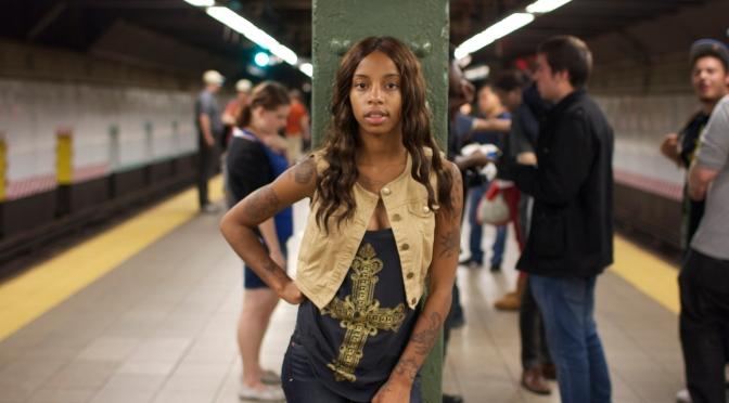 Behind Yaneisha Franklin's smile is the gritty hip-hop of Sasha Go Hard
