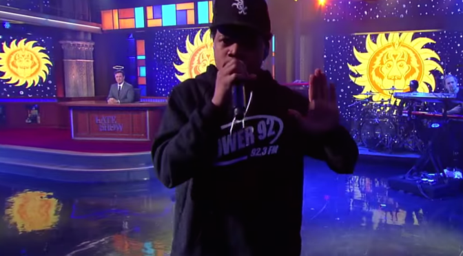 COULD CHANCE THE RAPPER'S LATE SHOW PERFORMANCE BRING CHANGE TO CHICAGO RADIO?