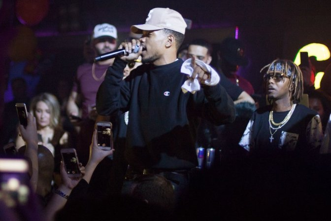 Chance the Rapper Celebrates Birthday by Holding Special Charity Event With Friends: Recap