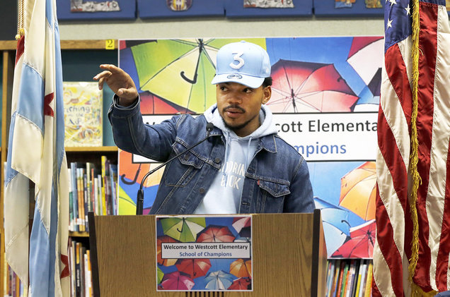 Chance the Rapper Creates New Arts Fund for Chicago Public Schools